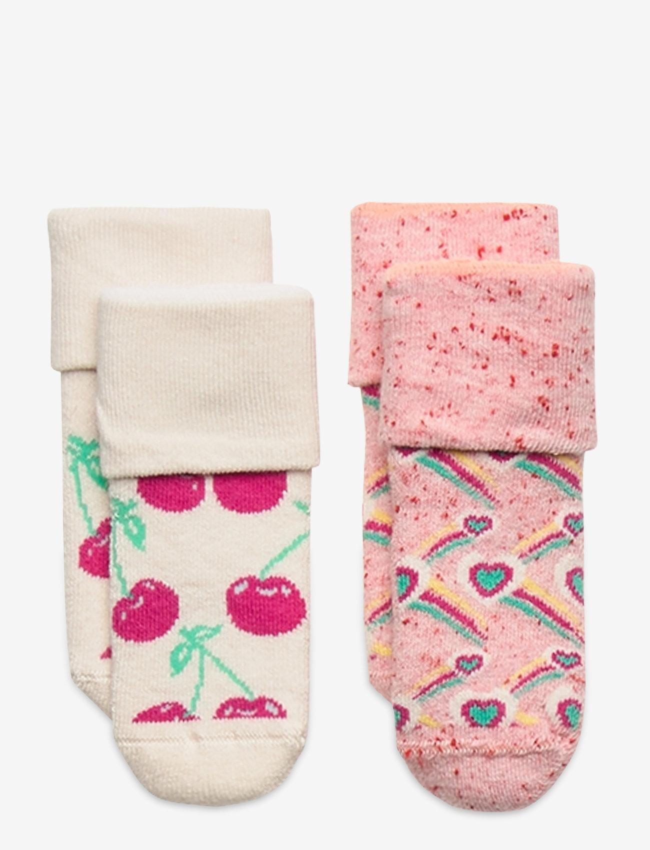 Happy Socks - 2-Pack Cherry Terry Socks - skarpetki - multi - 0