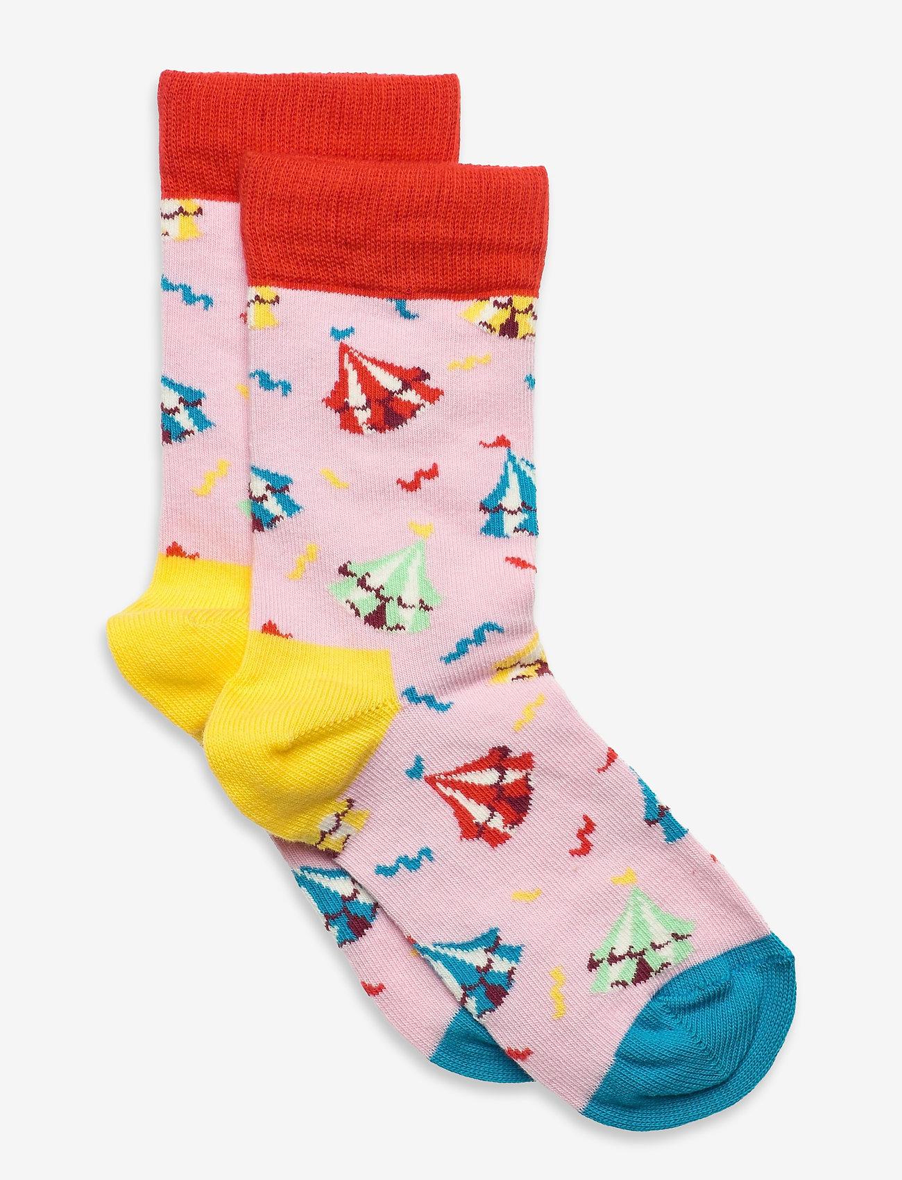 Happy Socks - Kids Circus Sock - skarpetki - light pink - 0