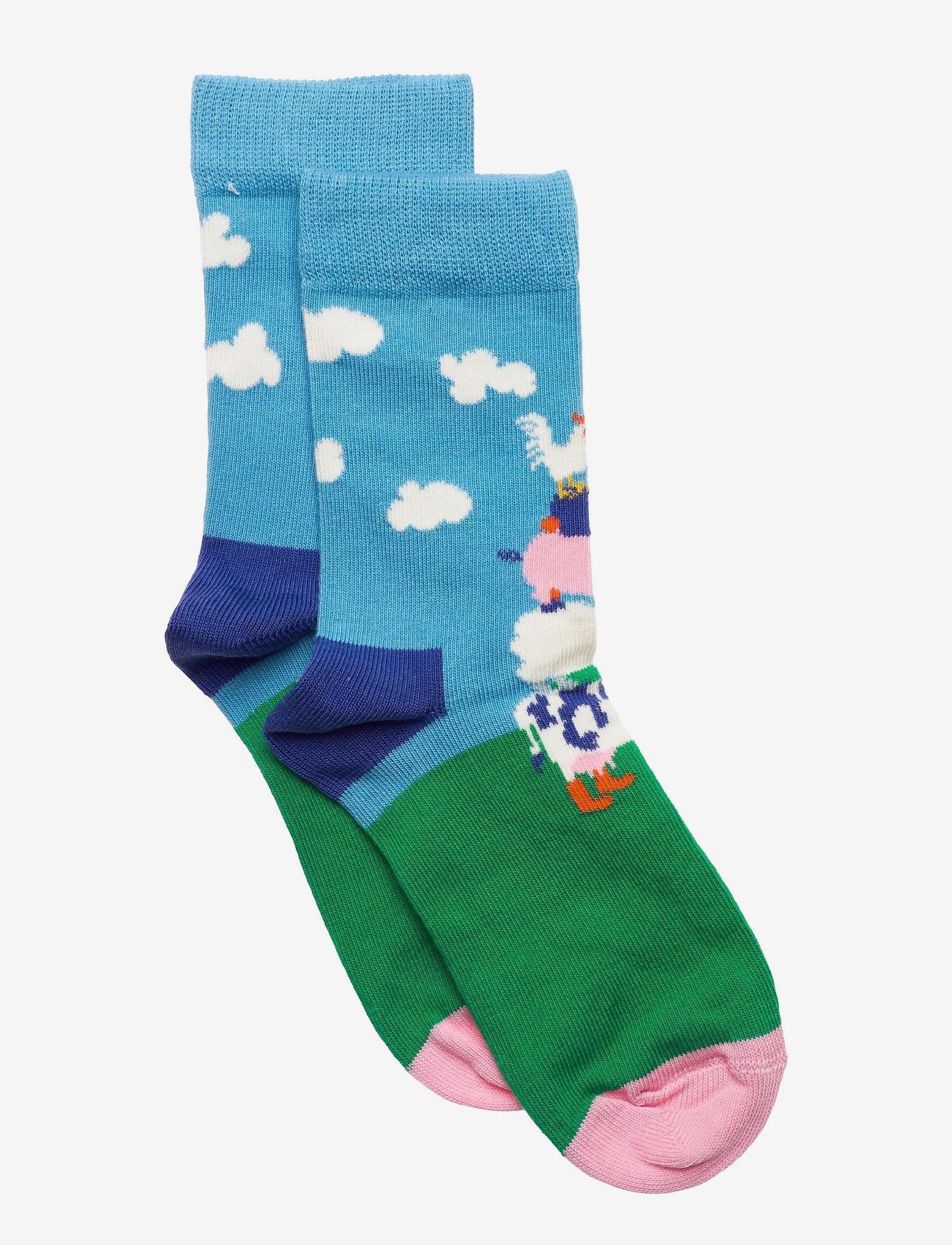 Happy Socks - Kids Farmtower Sock - skarpetki - blue - 0