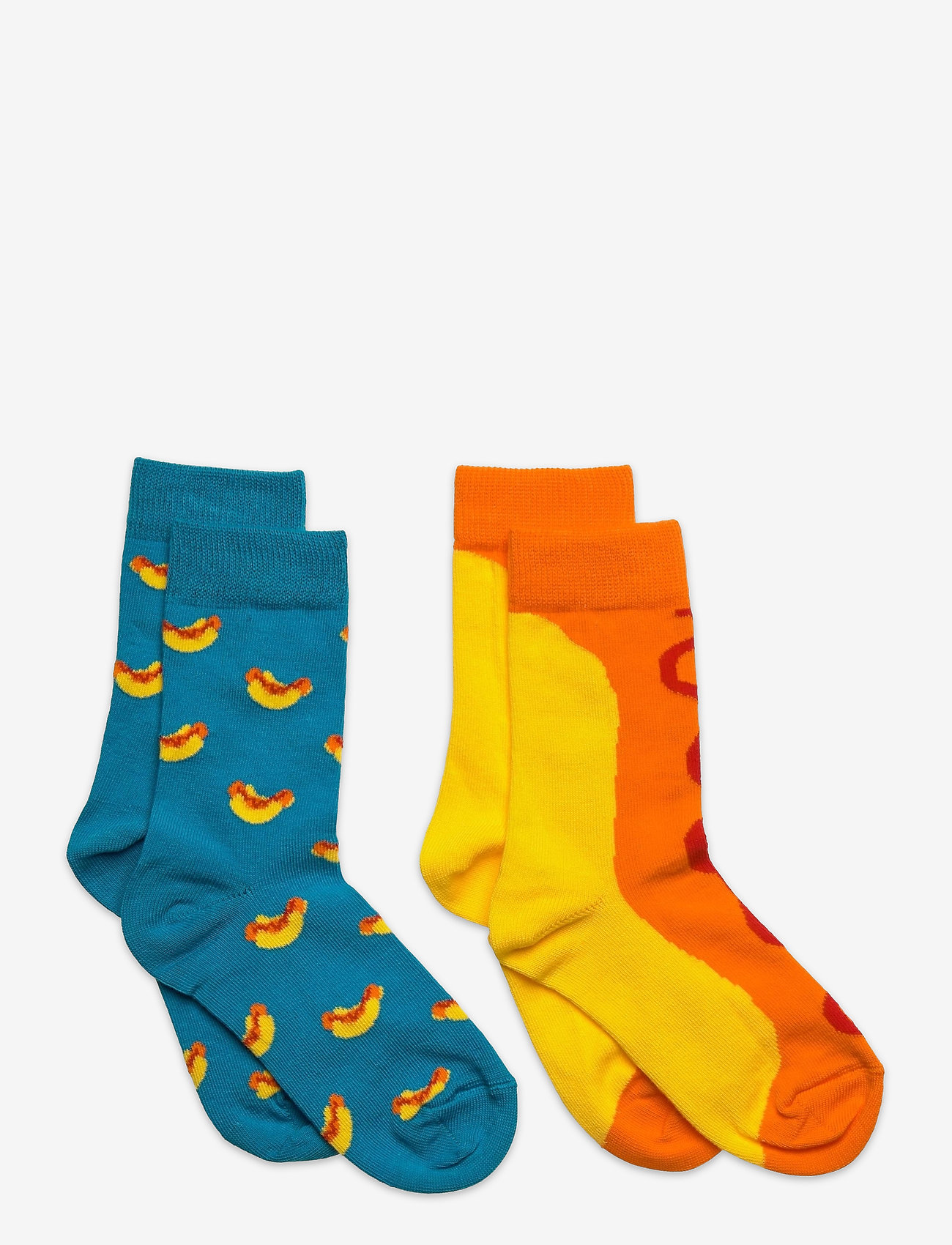 Happy Socks - 2-Pack Kids Hot Dog Sock - skarpetki - turquoise - 0