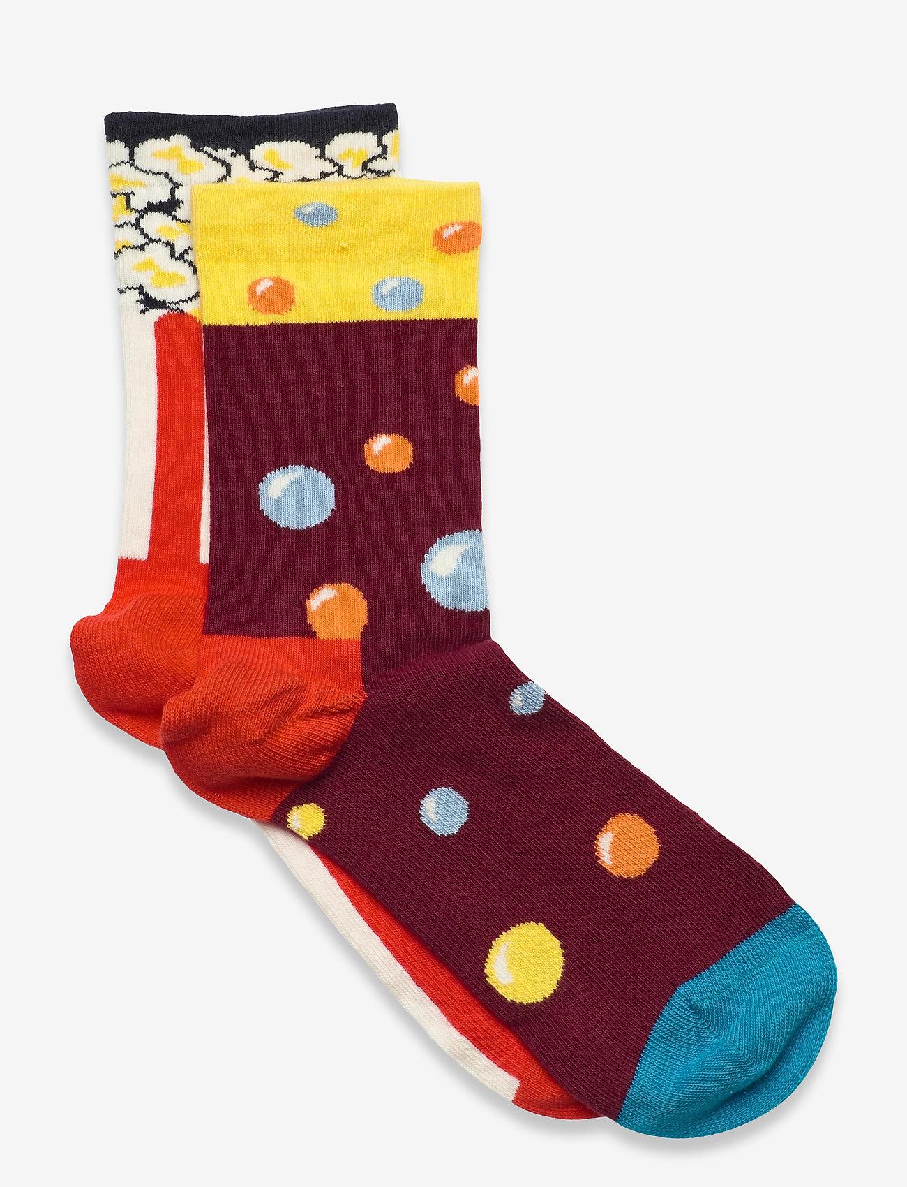 Happy Socks - Kids Popcorn And Soda Sock - skarpetki - multi - 0