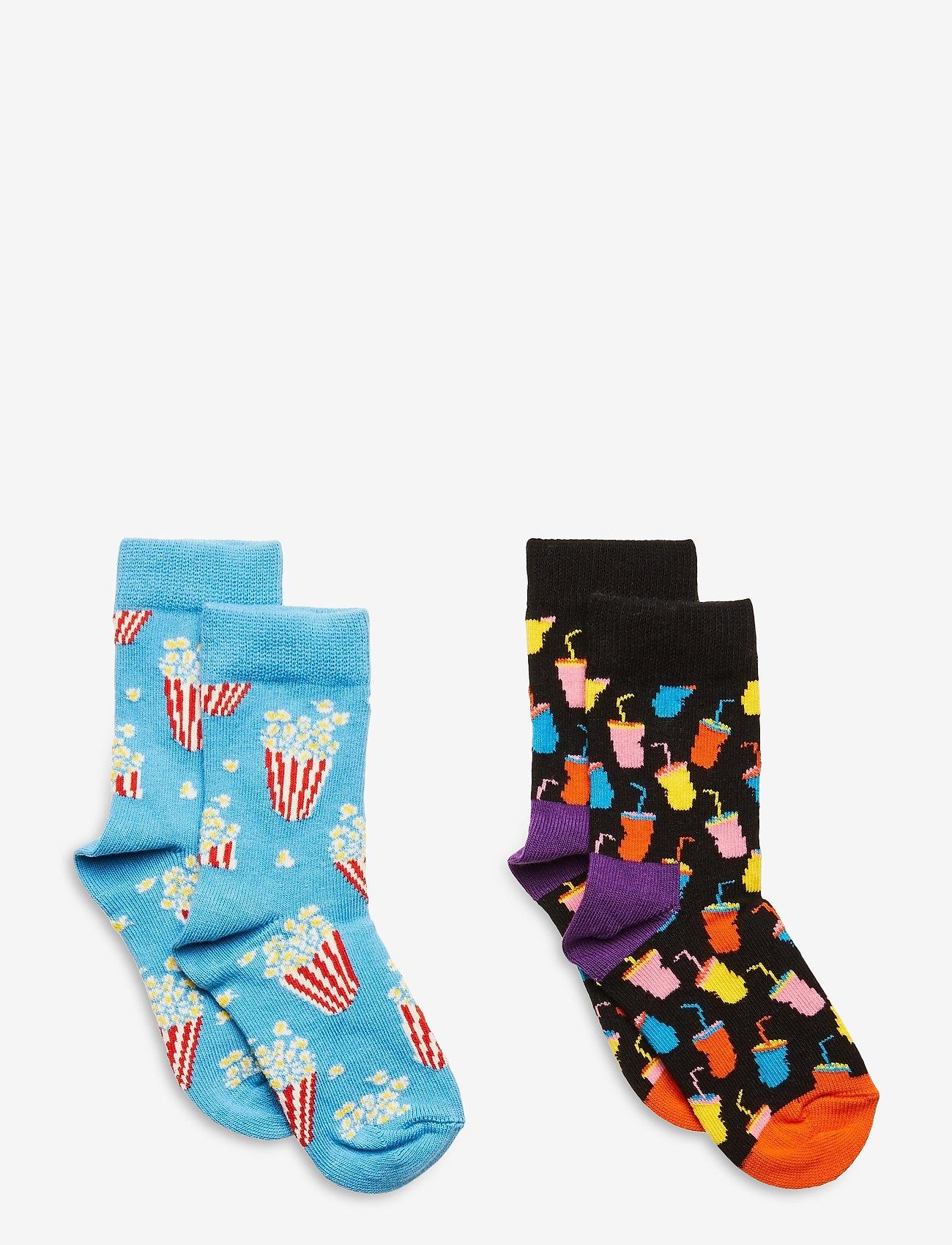 Happy Socks - 2-Pack Kids Snack Sock - skarpetki - multi - 0