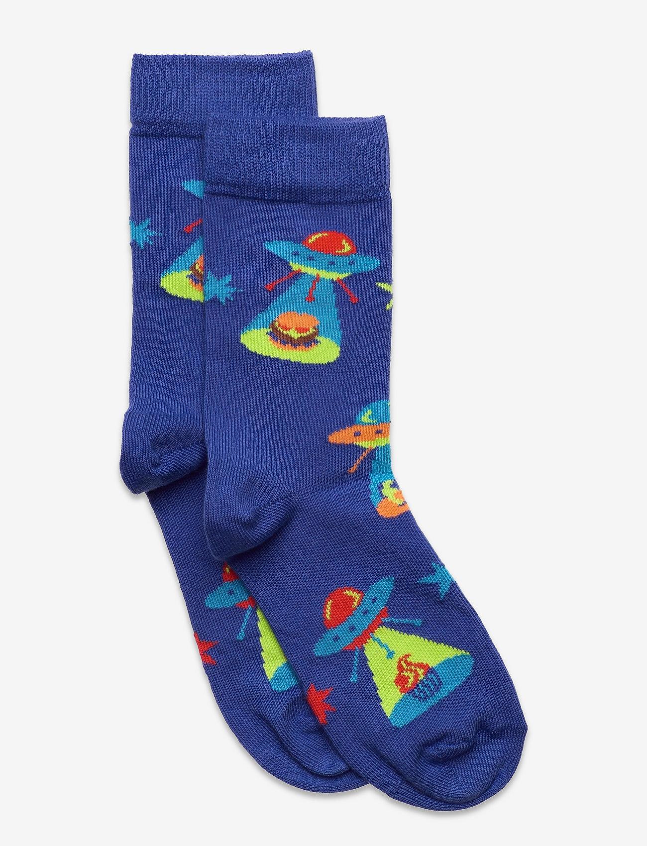 Happy Socks - Kids UFOs Sock - skarpetki - blue - 0