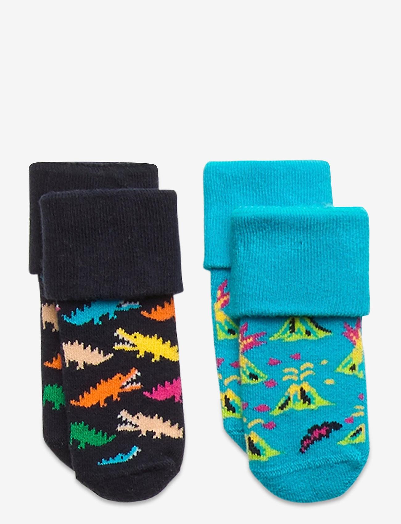 Happy Socks - 2-Pack Danger Terry Socks - skarpetki - multi - 0