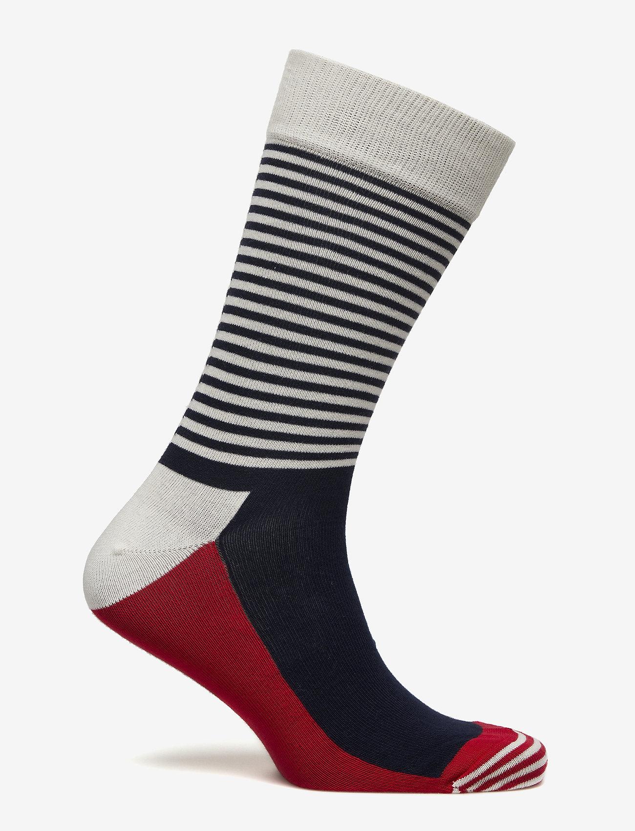 Happy Sockshalf Stripe Sock - Strümpfe