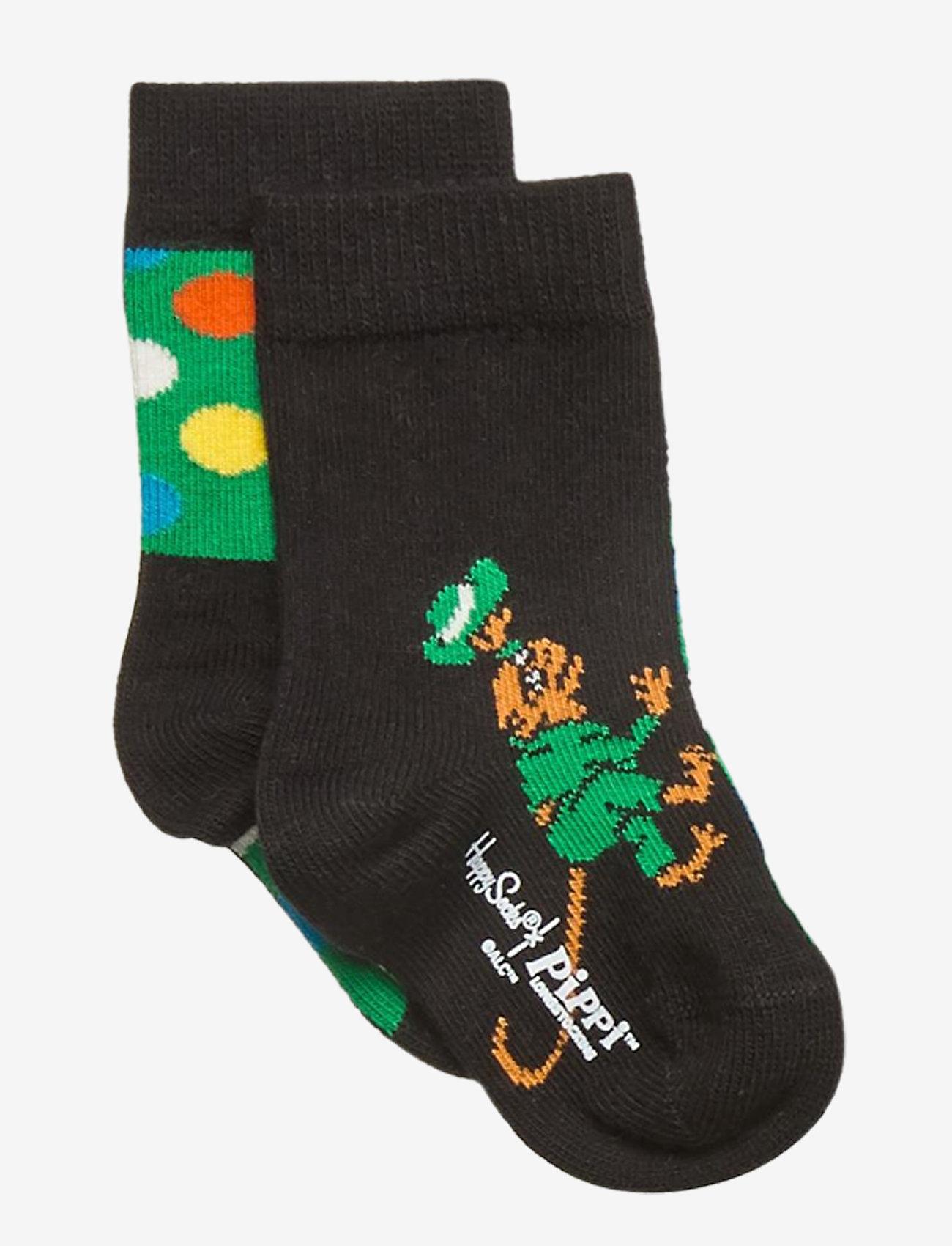 Happy Socks - Peekabo - skarpetki - black - 0