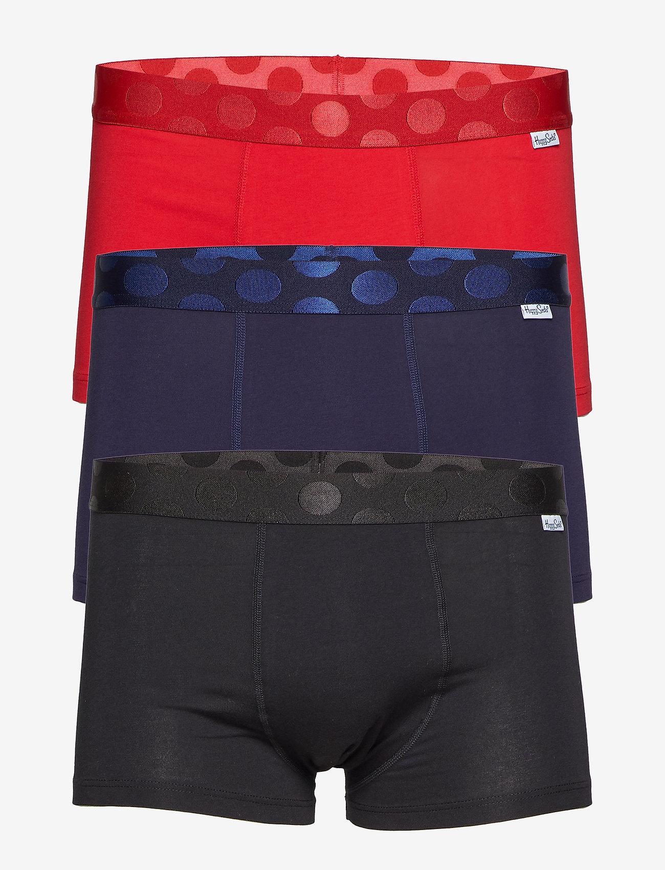 Happy Socks 3-pack Solid Trunk - Boxershorts Multi