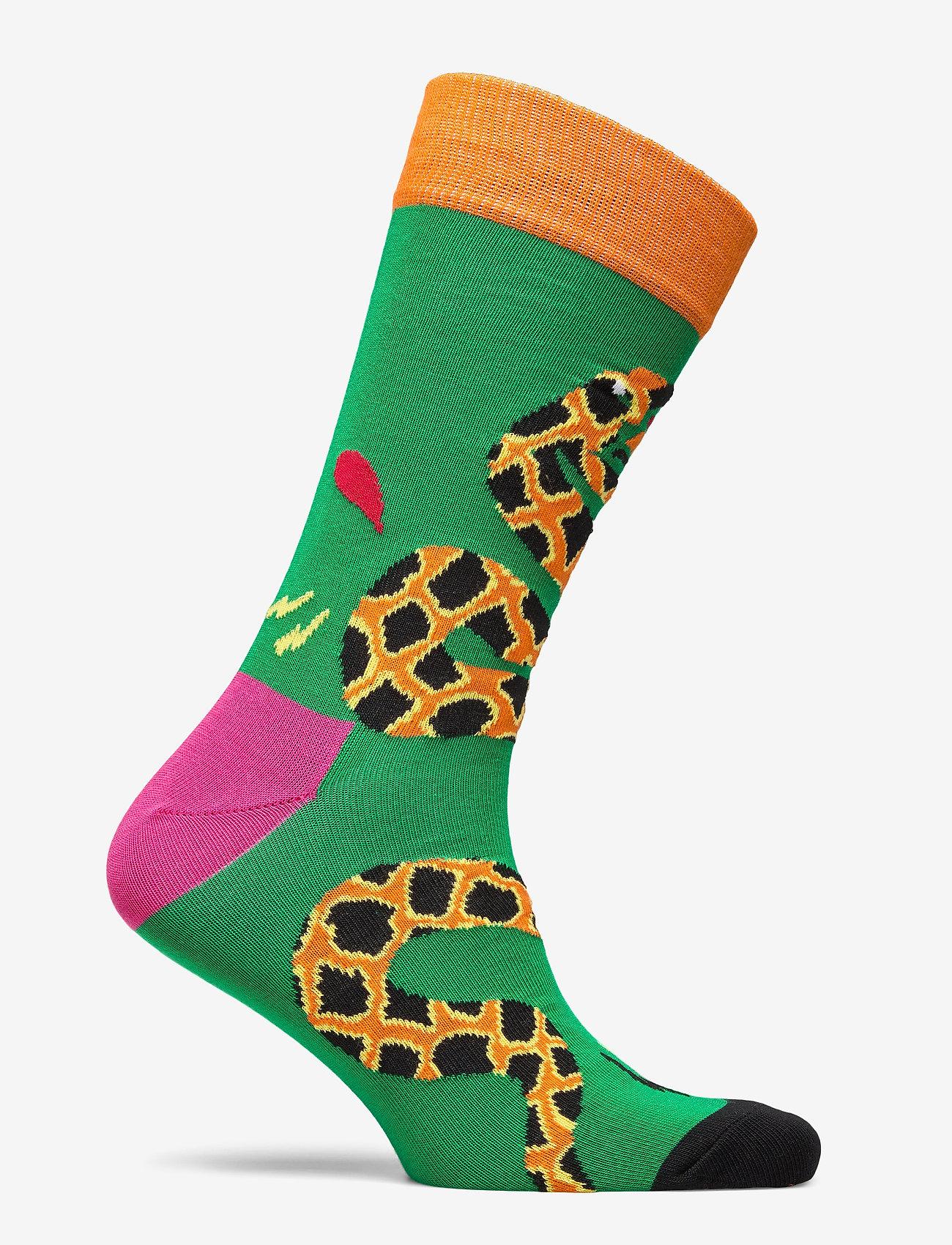 Tropical Snake Sock (Green) (5.97 €) - Happy Socks Mo8vp