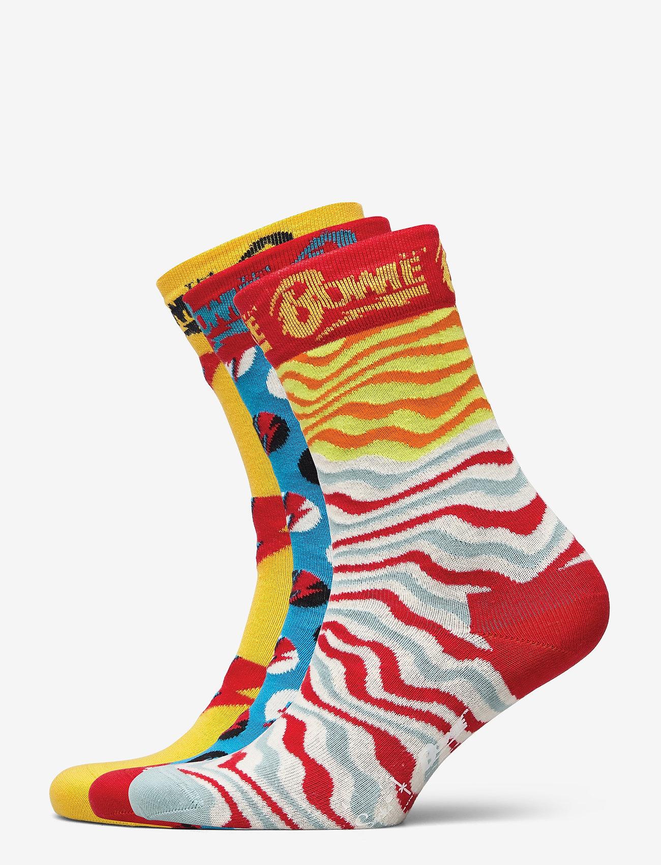 Happy Socks - 3-Pack Bowie Gift Set - normalne skarpetki - multi - 0