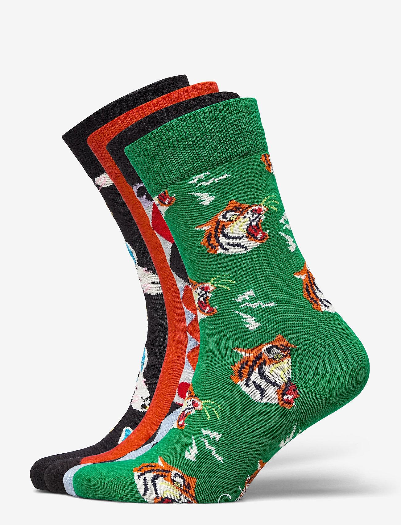 Happy Socks - 4-Pack Circus Socks Gift Set - skarpety crew - multi - 0