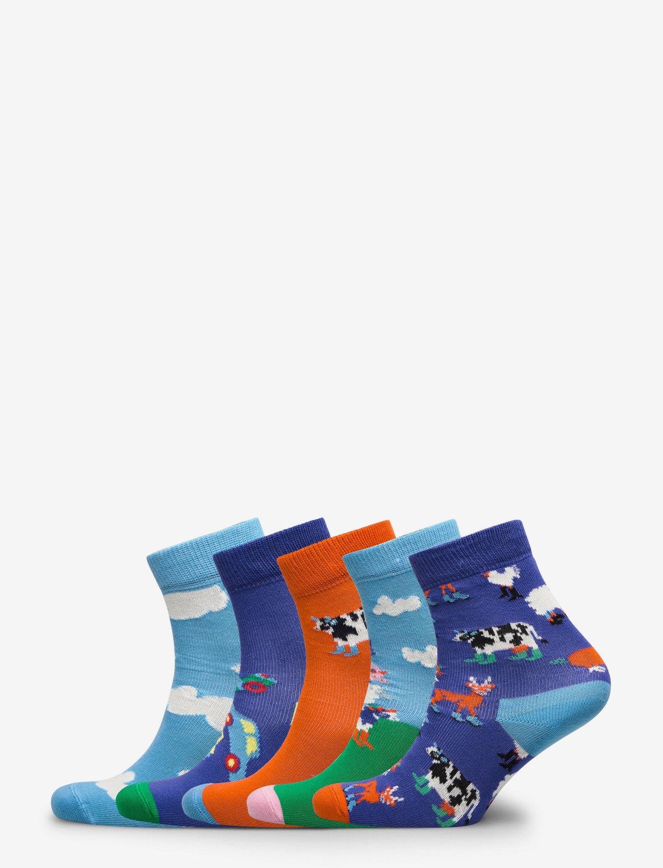 Happy Socks - Kids Farm Socks Gift Set - skarpetki - multi - 0