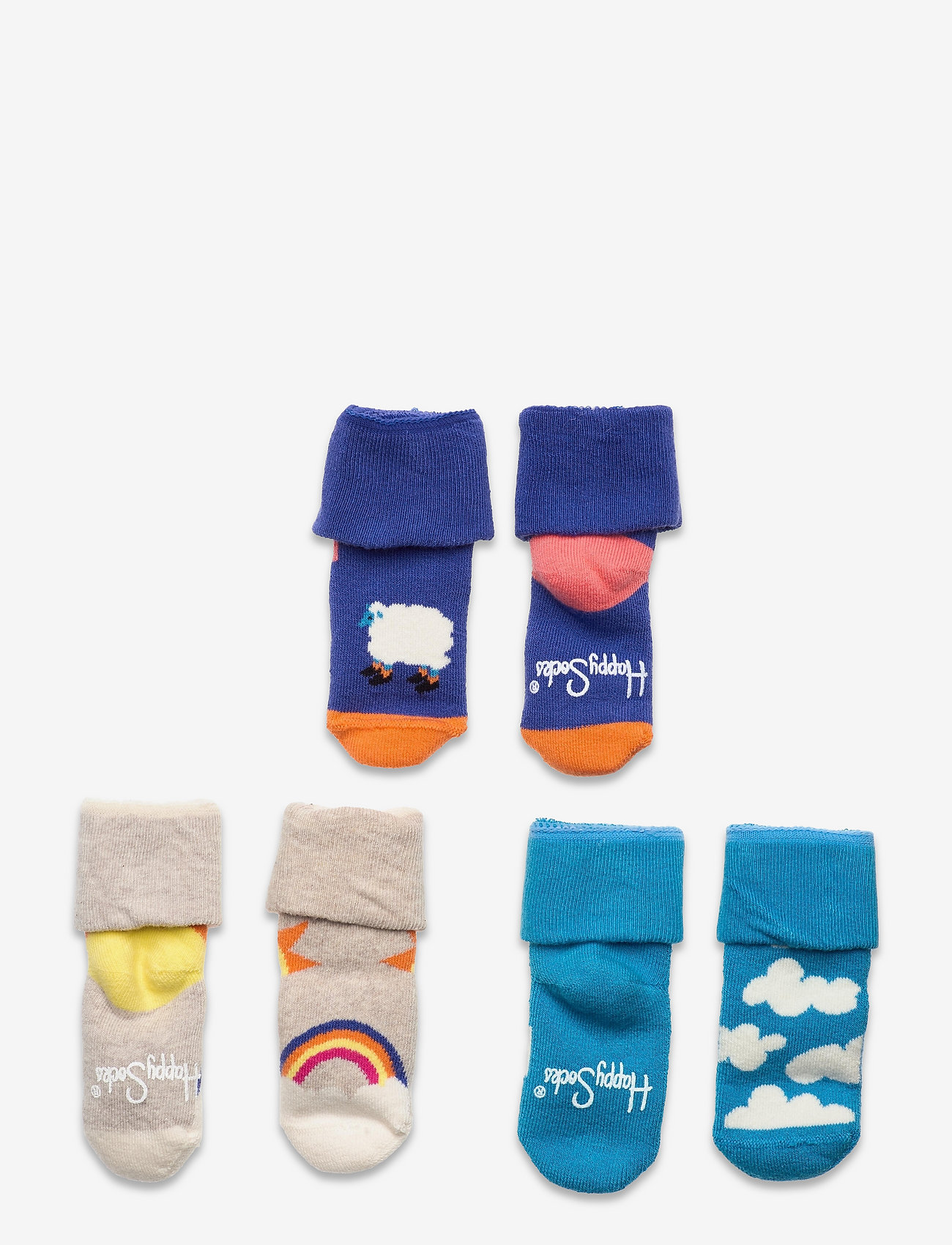 Happy Socks - Kids Over The Clouds Terry Gift Set - skarpetki - blue - 0