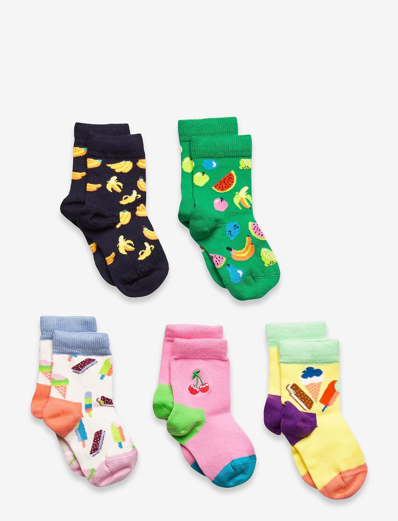 Happy Socks - Ice Cream & Fruit Socks Gift Set - skarpetki - multi - 0