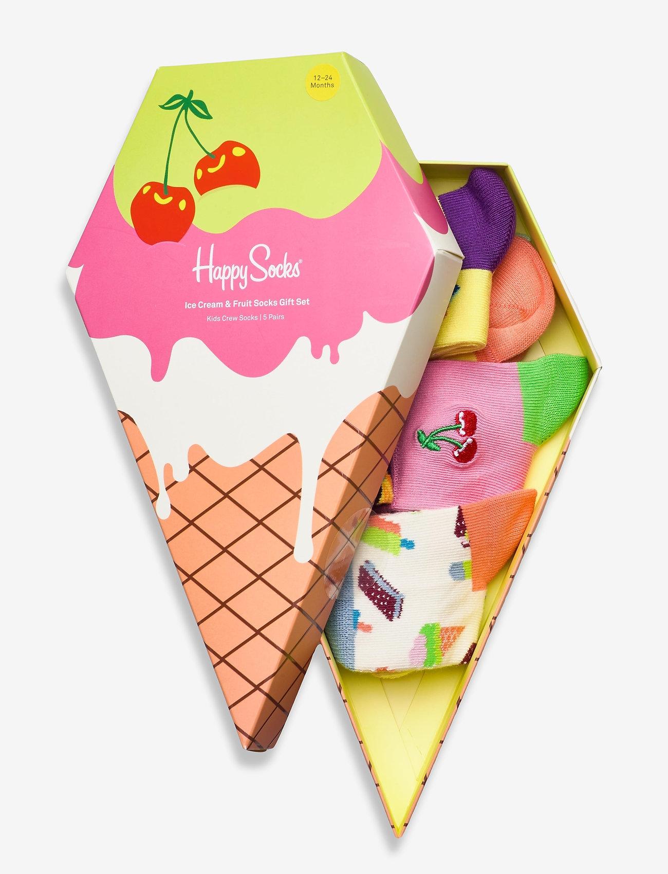 Happy Socks - Ice Cream & Fruit Socks Gift Set - skarpetki - multi - 1
