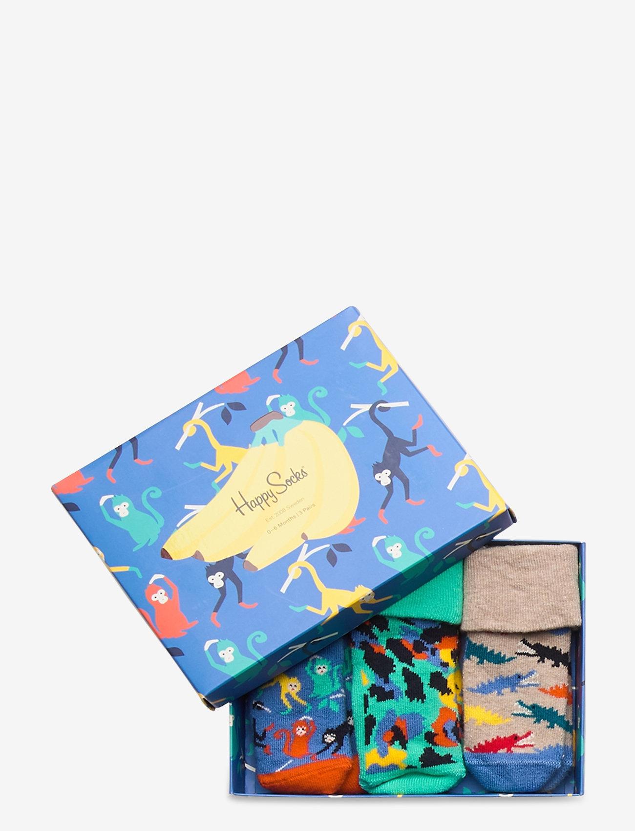 Happy Socks - Kids Jungle Gift Box - skarpetki - multi - 1