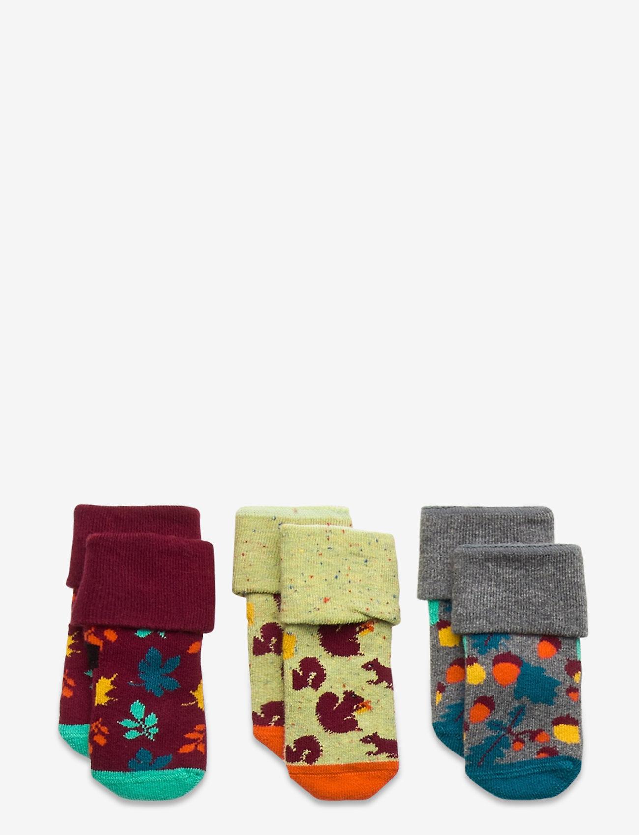 Happy Socks - Kids Forest Gift Box - skarpetki - multi - 0
