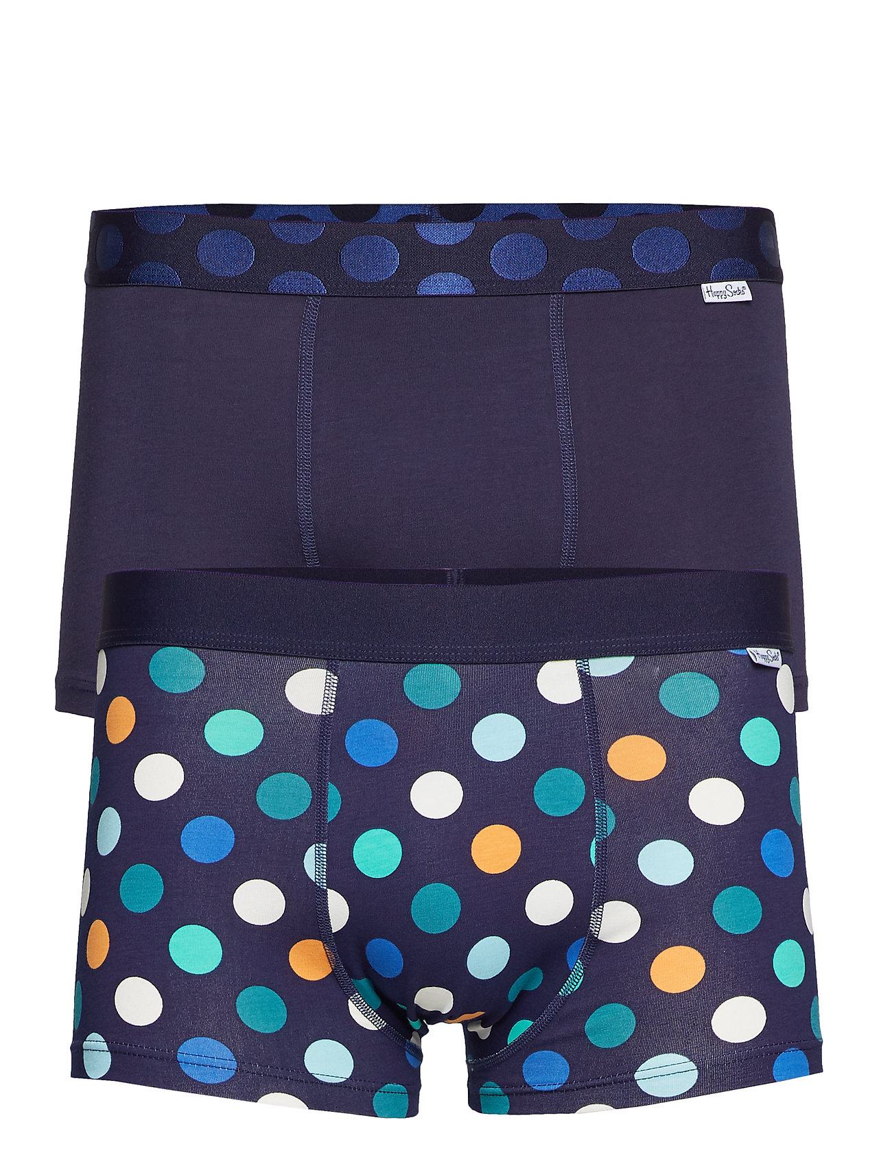 Happy Socks 2-Pack Big Dot Trunk - BLUE