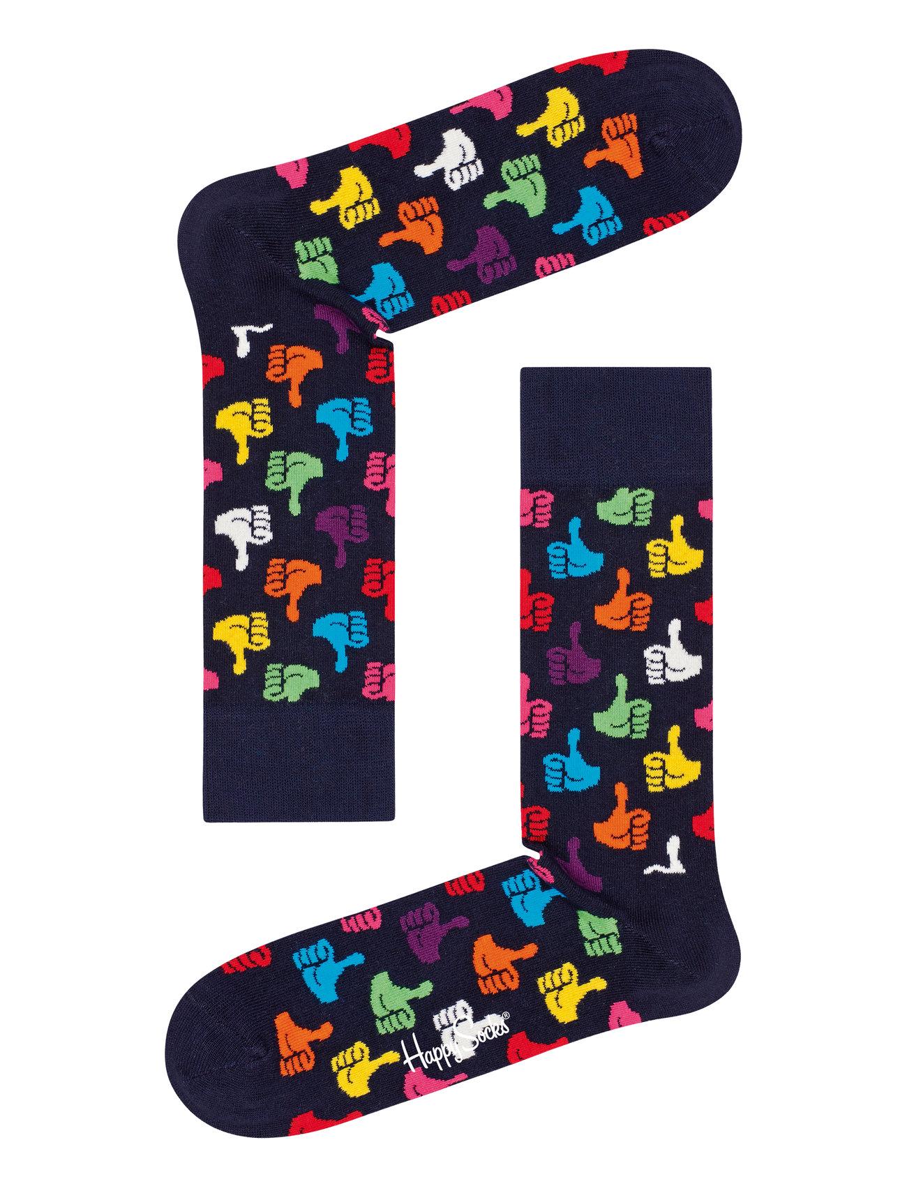 Happy Socks Thumbs Up Sock - BLUE
