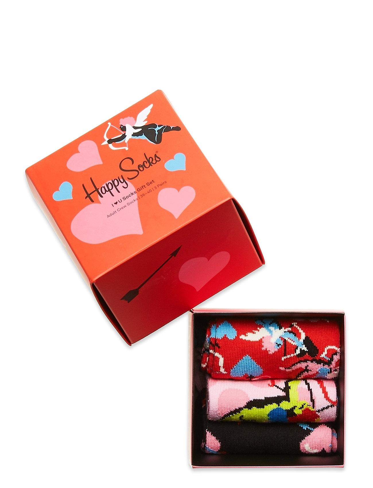 Happy Socks - 3-Pack I Love You Socks Gift Set - skarpetki - multi - 1