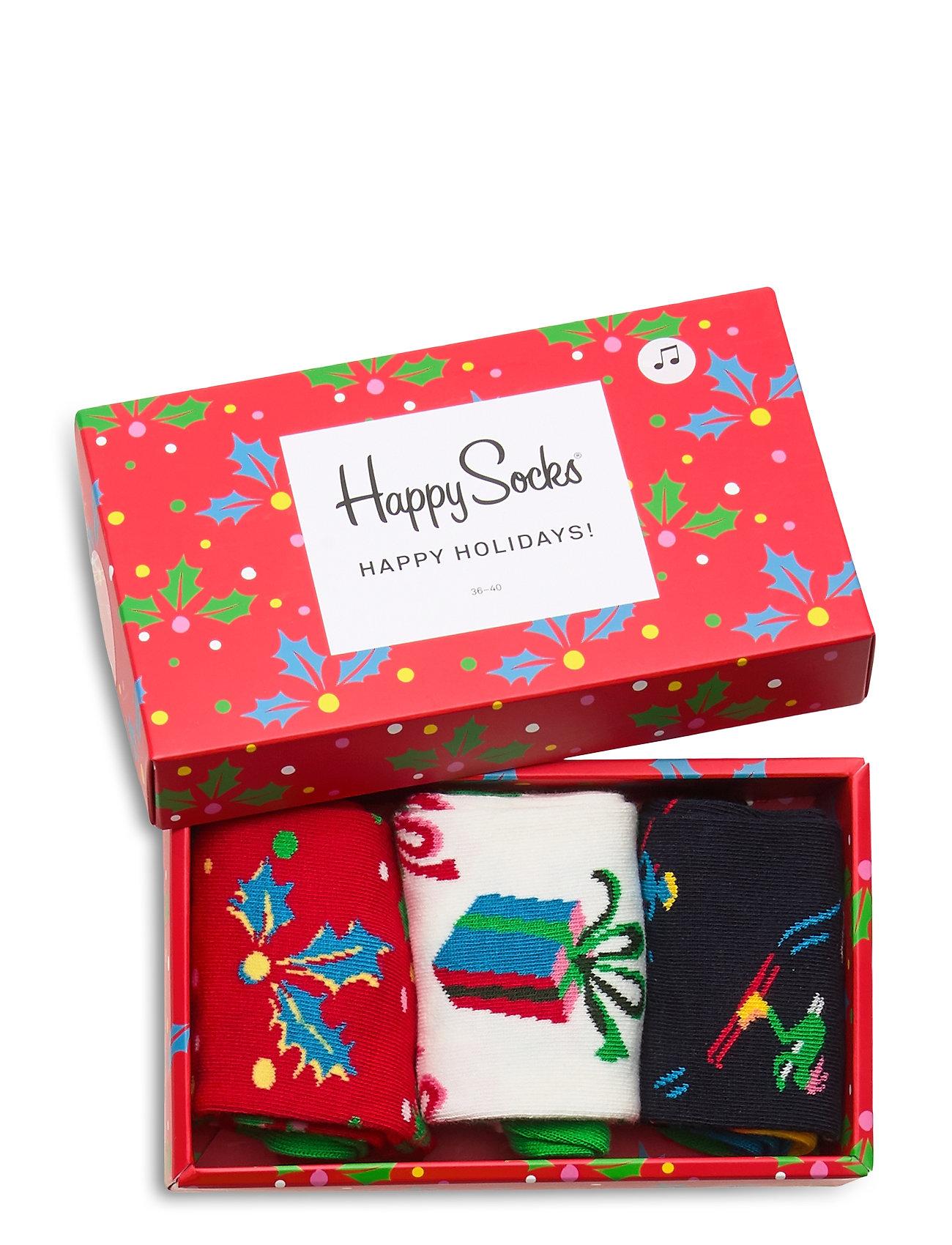Happy Socks Playing Holiday Gift Box - Strømper MULTI - Menn Klær