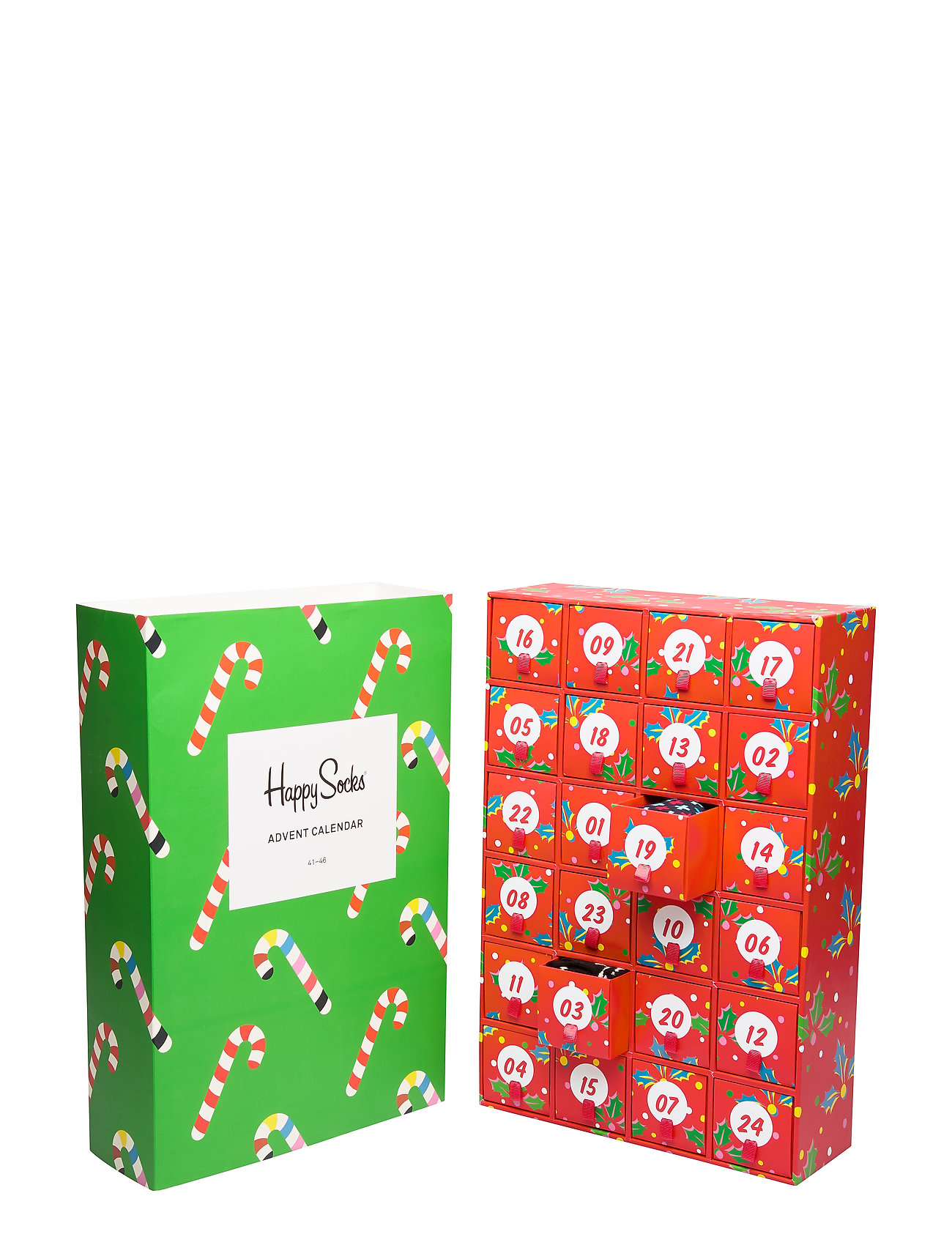 Happy Socks Calender Gift Box - RED