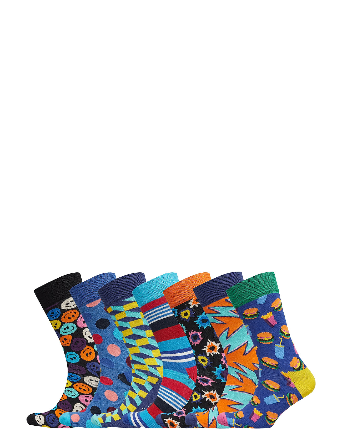 aa5fb340089c 7-day Gift Box (Multi) (£55.95) - Happy Socks -