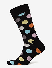 Happy Socks - Big Dot Sock - vanliga strumpor - black - 0
