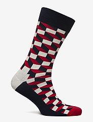Happy Socks - Filled Optic Sock - strumpor - blue - 1