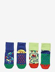 Happy Socks - 2-Pack Kids Countryroads Anti Slip - skarpetki - green - 0
