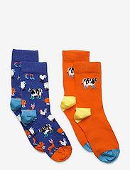 Happy Socks - 2-pack Kids Farmlife Socks - skarpetki - blue - 0