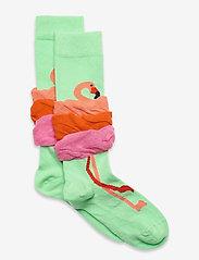 Happy Socks - Kids Flamingo Knee High Sock - skarpetki - multi - 0