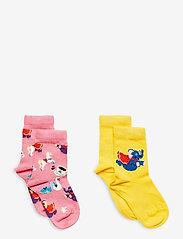 Happy Socks - 2-pack Kids Fun Fair Sock - skarpetki - multi - 0