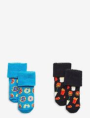 Happy Socks - 2-Pack Kids Junk Food Terry Socks - skarpetki - multi - 0