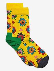 Happy Socks - Kids Lion Sock - skarpetki - medium yellow - 0