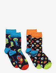 Happy Socks - 2-pack Kids Spacetime Socks - skarpetki - blue - 0