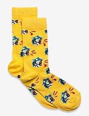 Happy Socks - Kids Tiger Sock - skarpetki - medium yellow - 0