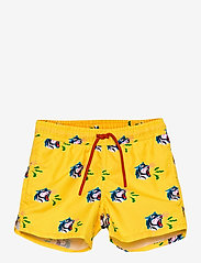 Happy Socks - Tiger Swimshorts - badehosen - yellow - 0
