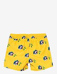 Happy Socks - Tiger Swimshorts - badehosen - yellow - 1