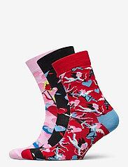 Happy Socks - 3-Pack I Love You Socks Gift Set - skarpetki - multi - 0