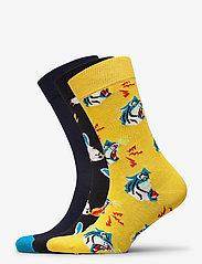 Happy Socks - 3-Pack Tiger Socks Gift Set - skarpety crew - multi - 0
