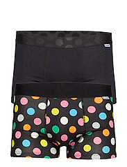 2-Pack Big Dot Trunk - BLACK