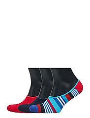 3-Pack Multi Stripeliner Sock