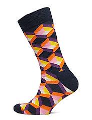 Optic Squre Sock - BLUE