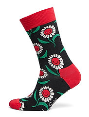 Sunflower Sock - BLACK