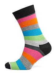 Stripe Sock - BLACK