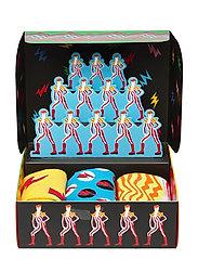 Happy Socks - 3-Pack Bowie Gift Set - normalne skarpetki - multi - 1