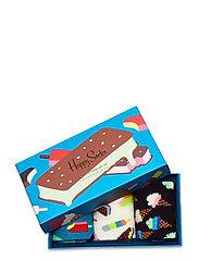 Happy Socks - 3-Pack Ice Cream Socks Gift Set - skarpetki - multi - 0
