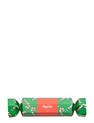 Christmas Cracker Candy Cane Gift Box - GREEN