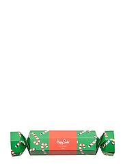 Christmas Cracker Candy Cane Gift Box - GREEN