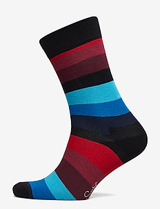 Stripe Sock - reguläre strümpfe - blue